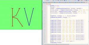 Отчёт от 9372 за НаноШахматы / VIP. PHP - Рисуем буквы