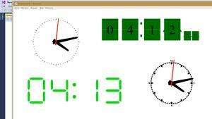 Отчёт от 10558 за WPF Clocks / Финал